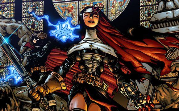 La adaptación manga de la monja guerrera llegará a Netflix