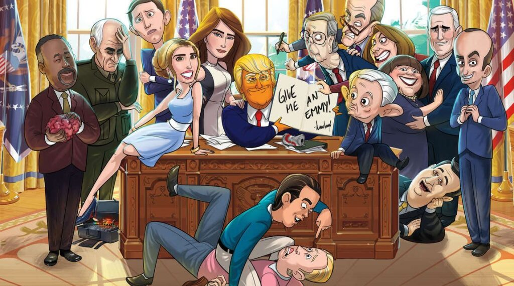 Animado presidente serie
