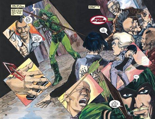 El arco del cazador de Green Arrow