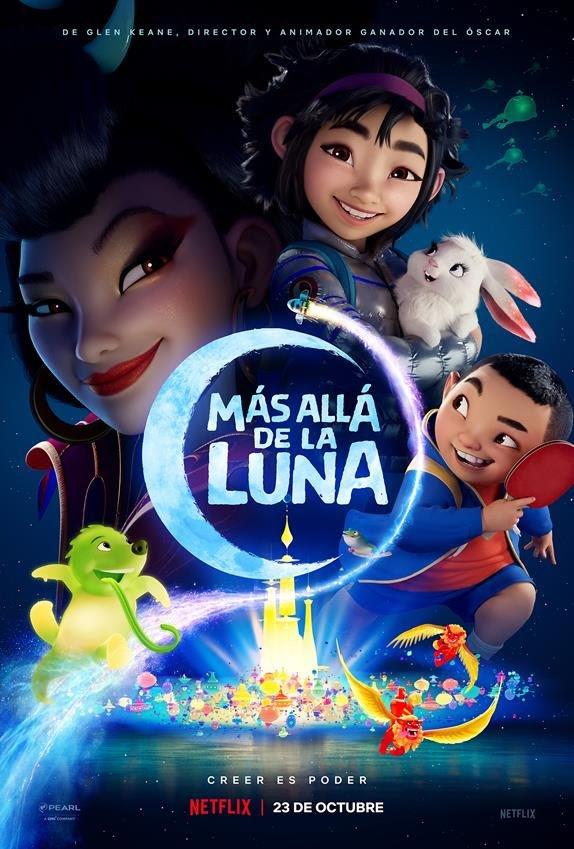 Netflix estrena el segundo tráiler de Más allá de la luna