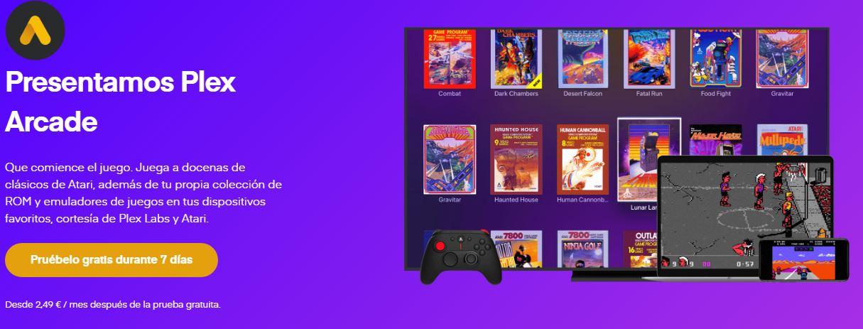Plex se une a Atari para traernos el servicio de Plex Arcade