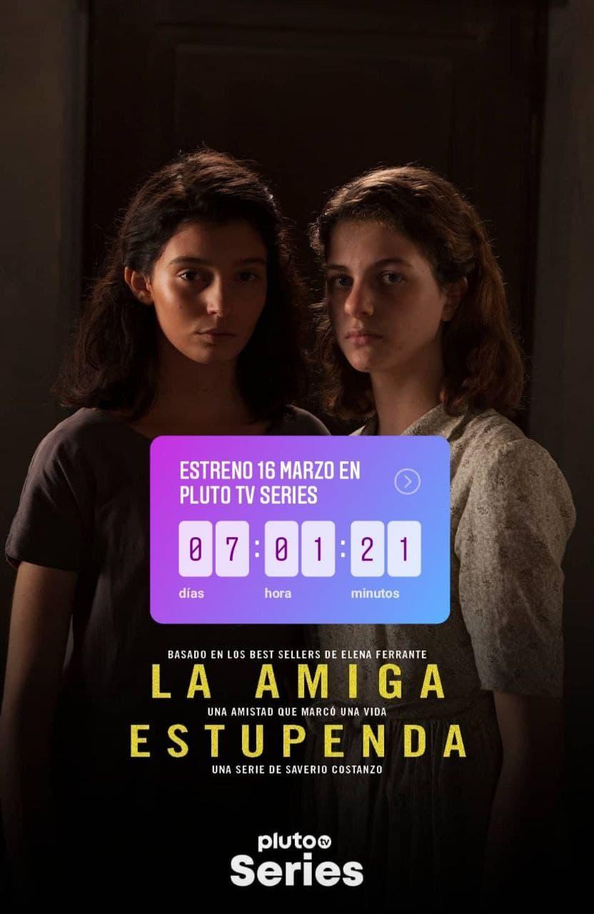 Pluto TV España estrena la serie La amiga estupenda siendo una confirmación directa por parte de la plataforma.