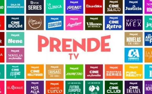 Prende TV ha llegado. La competencia directa de Pluto TV.