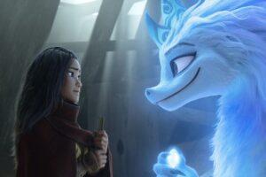 Raya y el último dragón termina triunfando en Disney+