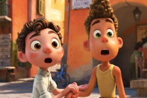 Pixar intenta traernos innovación con la historia de Luca