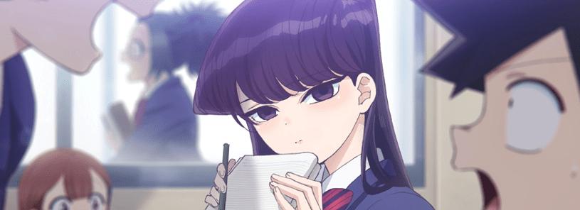 Netflix estrenará en exclusiva el anime Komi-san No Puede Comunicarse