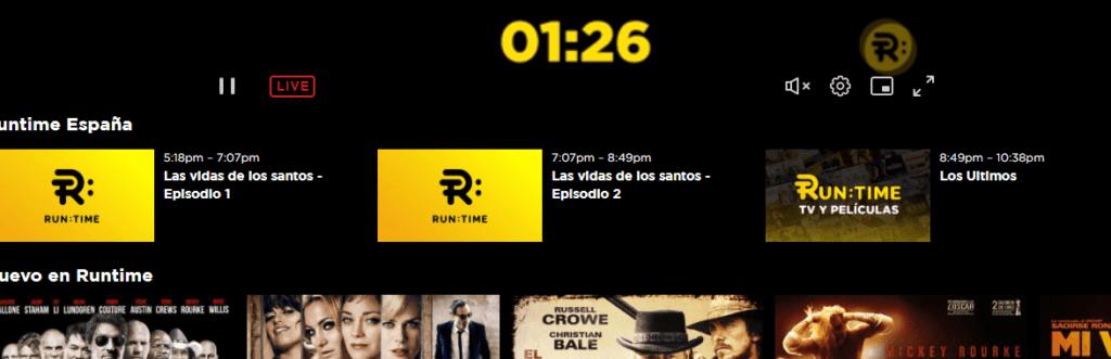 Runtime nos explica como instalar su servicio en Samsung TV Plus